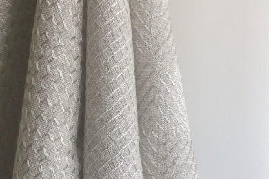 <h3>Dobby Weave</h3>Ascend-Descend Bobbinet & Hedge Maze