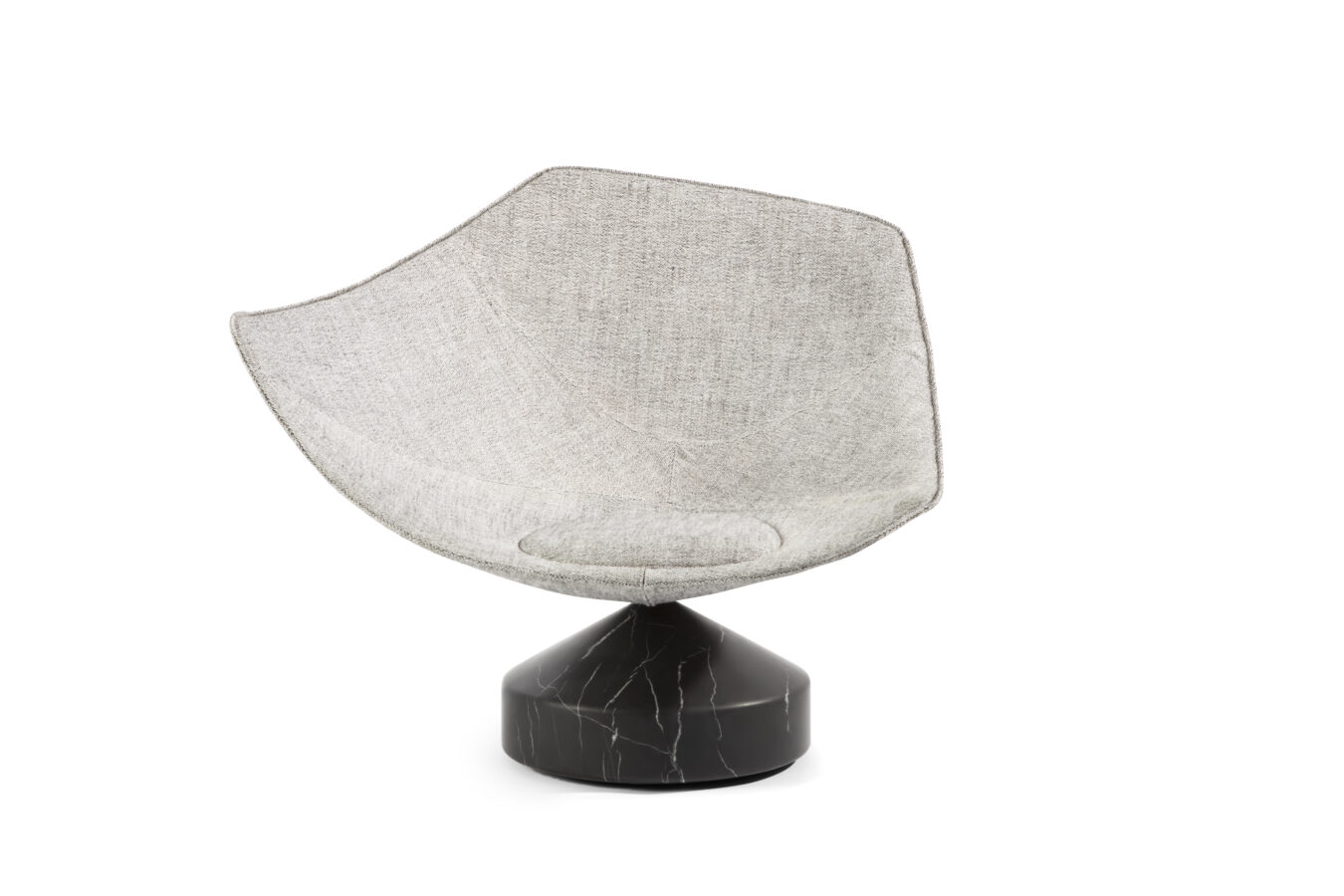 Emmanuel Babled Jaganda - a Contemporary Chair upholstered with Swowfield Rogers & Goffigon's fabric